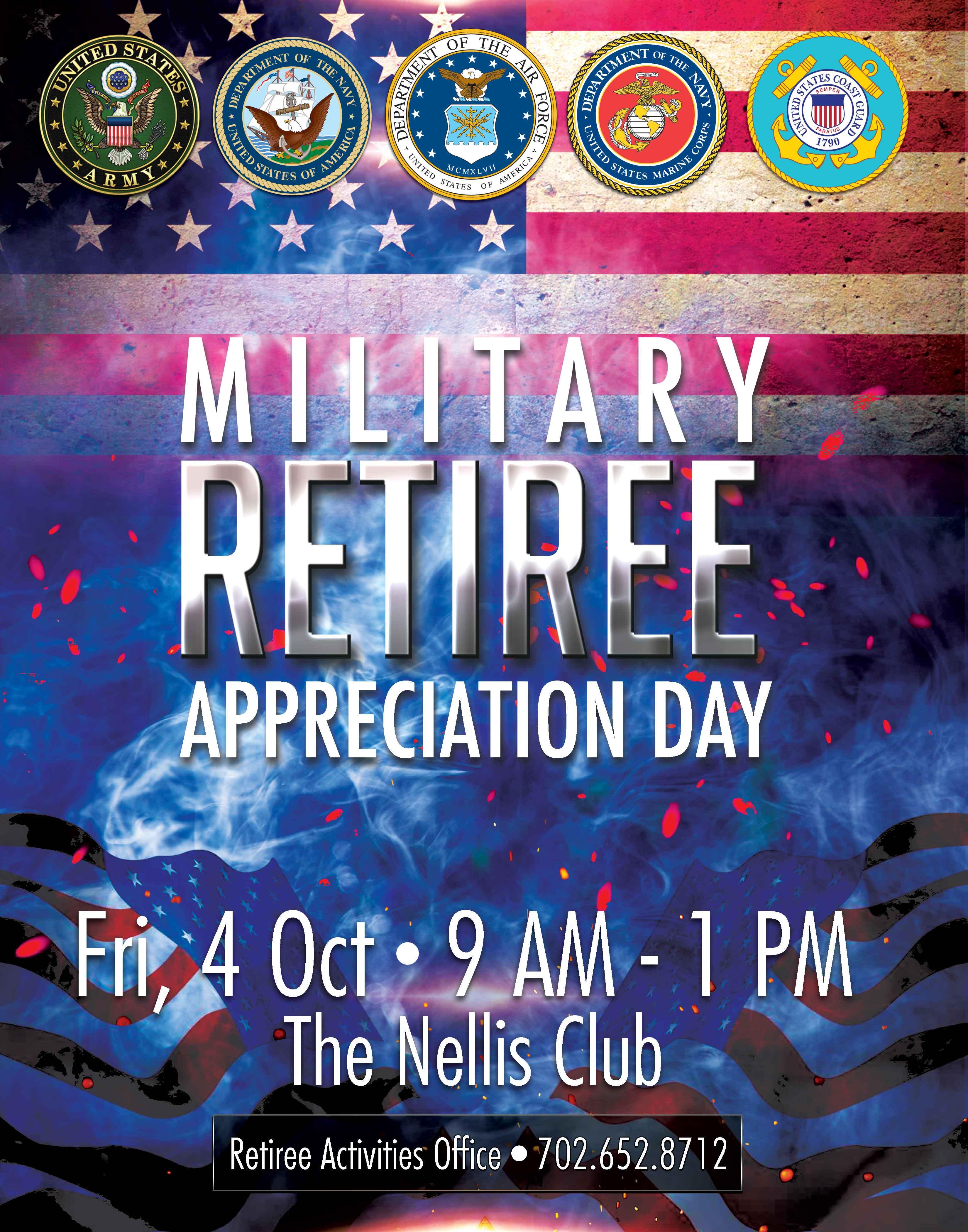 Military Retiree Appreciation Day Nellis Life